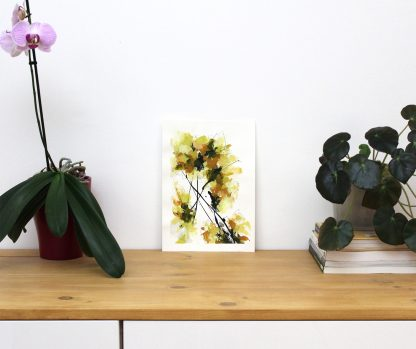 Eclosion, peinture contemporaine abstraite de Vanessa Lim