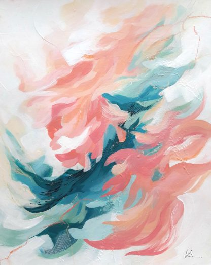 Halo, peinture contemporaine abstraite de Vanessa Lim