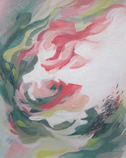 You don't know me, peinture contemporaine abstraite de Vanessa Lim