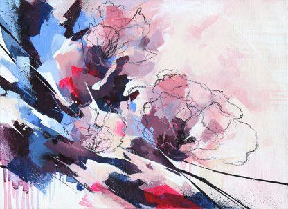 Premier jour de printemps, peinture contemporaine abstraite de Vanessa Lim