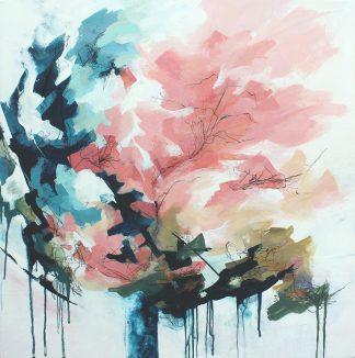 Résilience, peinture contemporaine abstraite de Vanessa Lim