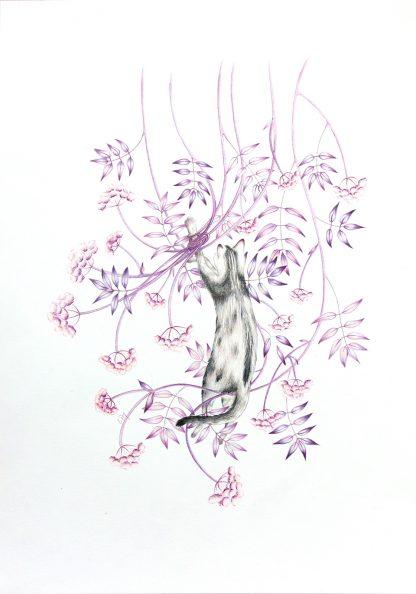 Retiens-moi, illustration de Vanessa Lim