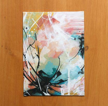 Liberté, peinture contemporaine abstraite de Vanessa Lim