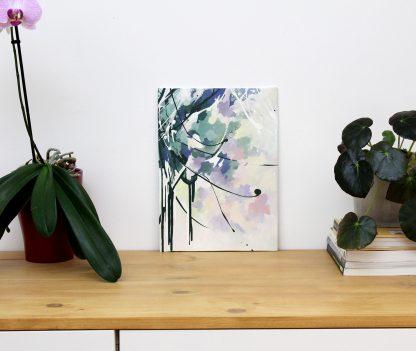 Let me live, peinture contemporaine abstraite de Vanessa Lim